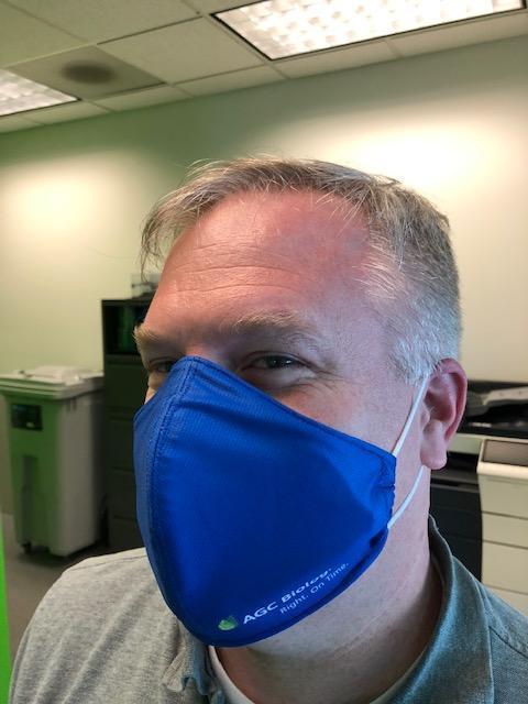 People Pic - Chad Brueckner - AGC Bio Facemask