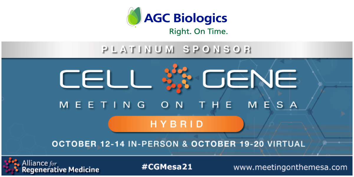 Cell & Gene Meeting on the Mesa, October 12-14, 2021