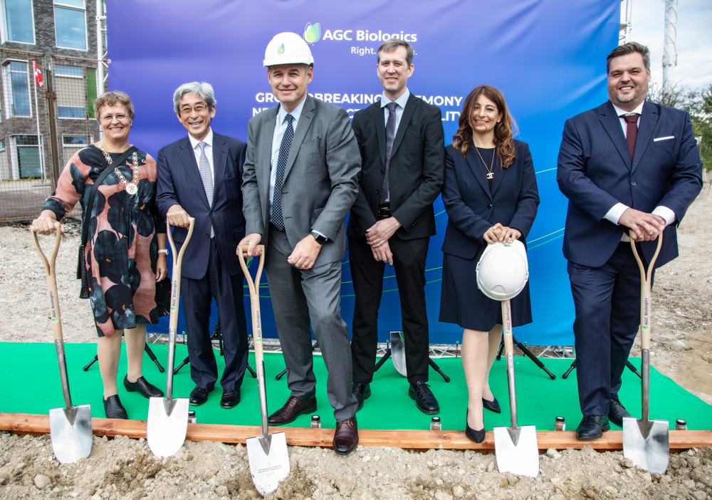 AGC Biologics Announces the Groundbreaking of its New Facility at its Copenhagen, Denmark Site