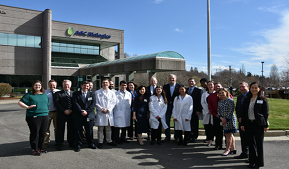 Washington State Governor Jay Inslee Visits AGC Biologics Corporate Headquarters