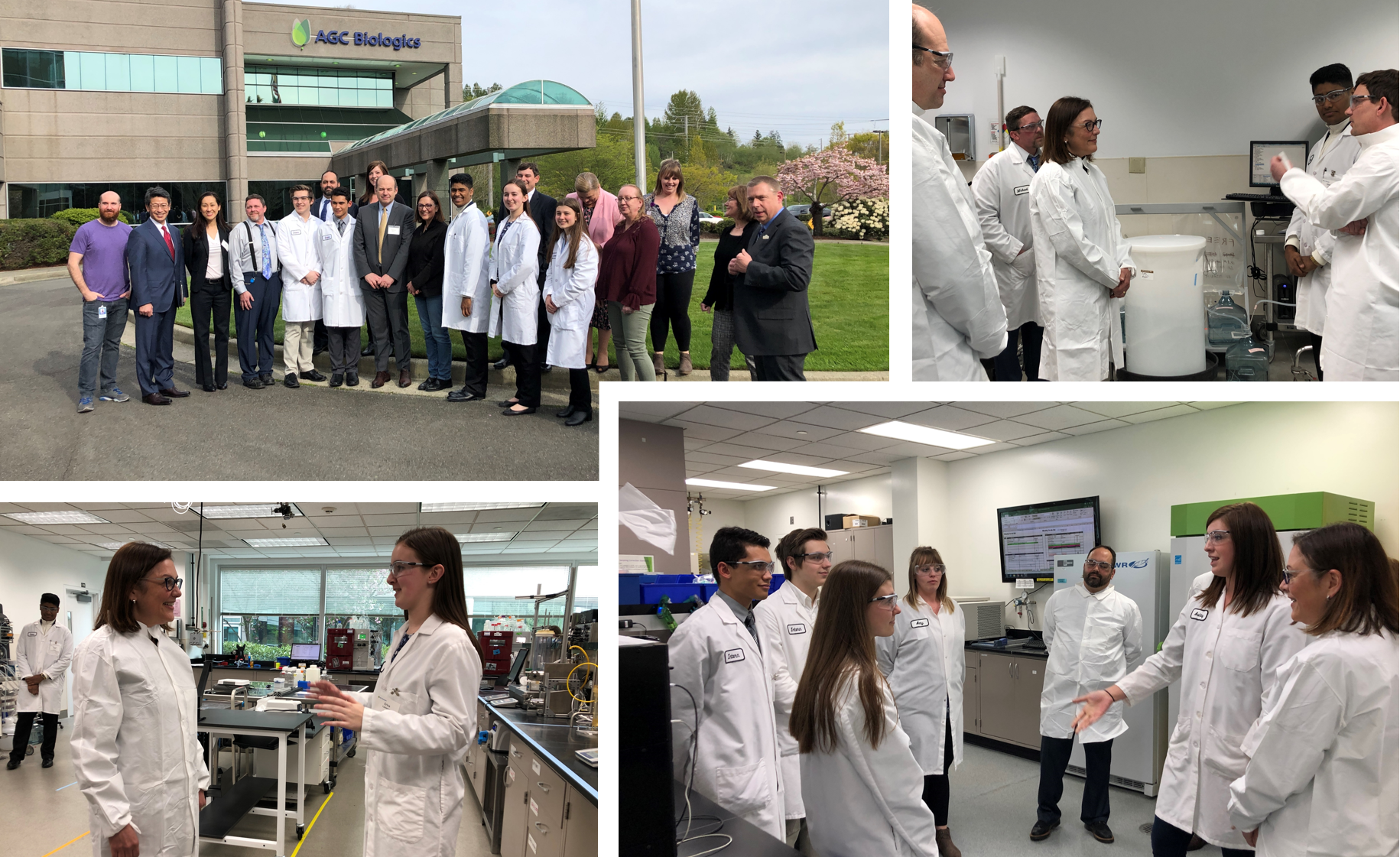U.S. Congresswoman, Suzan DelBene, Visits AGC Biologics Corporate Headquarters
