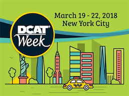 DCAT Week 2018, March 19-22, New York City
